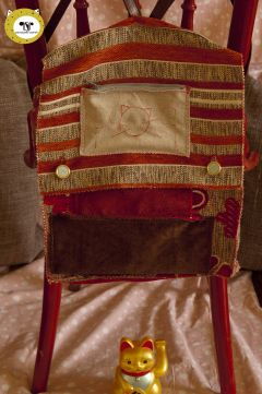 FURNITURE MATERIAL SAMPLE BACKPACK