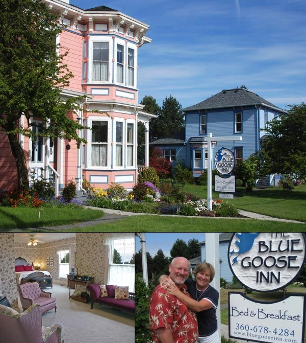 Whidbey Island Victorian Inn In Coupeville Blue Goose Bandb