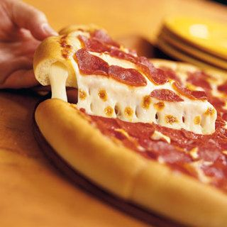 Pizza Hut's Stuffed Pizza Crust