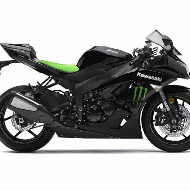 Kawasaki Ninja... minus the monster sign lol #guiltypleasure #impractical #still want!