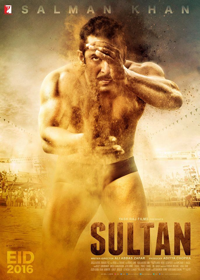 Check out! The First Poster of Salman Khan in and as 'Sultan'