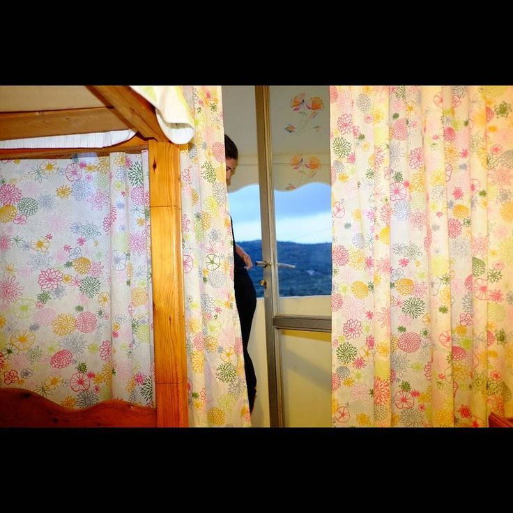 Untitled #skantzman #heraklion #crete #door #courtain #countryside #colour #velvia #flash #28mm #woman #manolisskantzakis #photography #fujixpro1 #fuji #xpro1