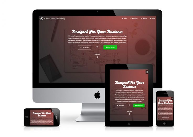 Разработка полноценного фирменного сайта - MIADA