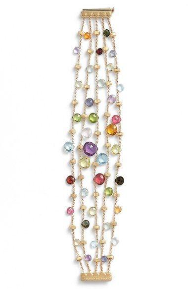 Marco Bicego 'Paradise' Multistrand Bracelet available at #Nordstrom #gemstonejewelry #luxurygifts http://shop.nordstrom.com/s/marco-bicego-paradise-multistrand-bracelet/4126522?origin=category-personalizedsort&contextualcategoryid=0&fashionColor=&resultback=5545
