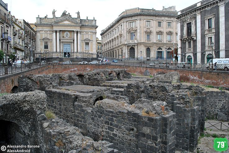 Anfiteatro romano #Catania #Sicilia #Italia #Italy #Viaggio #Viaggiare #Travel #AlwaysOnTheRoad
