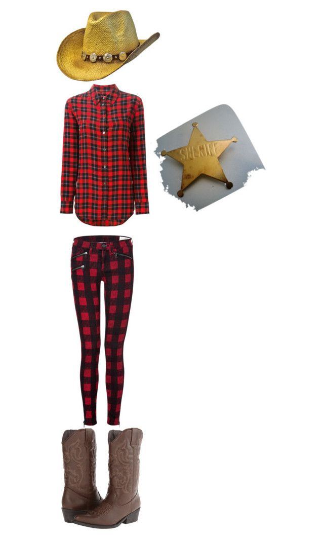 """Cowboy"" by inkmanwil on Polyvore featuring Equipment, rag & bone and Madden Girl"