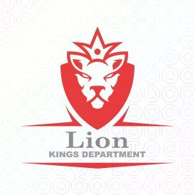 Lion+Kings+Department+logo+king+imperial+security+protection+animals
