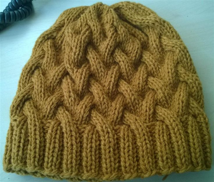 A sample of knitting hat for Buddhist monks in the north of Thailand.