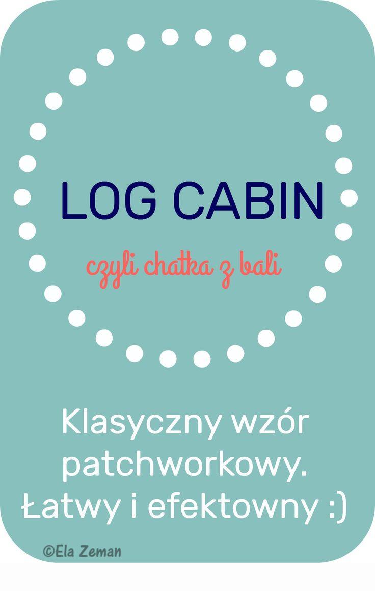 log cabin infografika