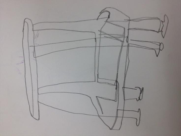 Blind Contour Line Drawing Definition : Best blind c images contour drawings