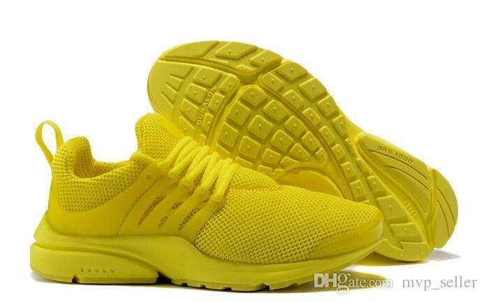 5053479773d0c9 Cheap Sale 2018 Top Presto Ultra 5 Br Qs Sports Running Shoes For Men Women  All Yellow White Army Green Prestos Jogging Sneakers Size 36 46 Shoes For  Sale ...