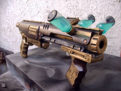 Steampunk Gun Nerf Rampage Victorian Gothic Vampire Hunter Cosplay Painted Prop | eBay