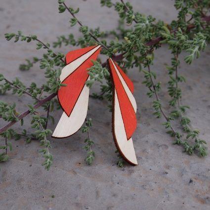 FIINA, orange - birch | Weecos