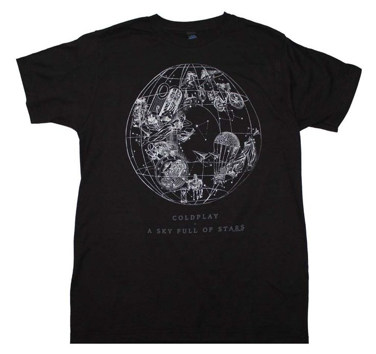 Coldplay Sky Full of Stars T-Shirt