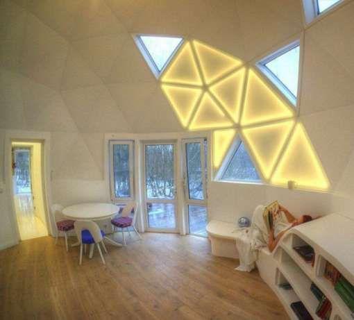 Купольный дом. ЭКО дом. Купольное строительство Киев - изображение 3