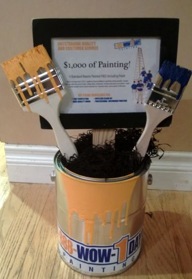 What a great way to present a service item at your silent auction!