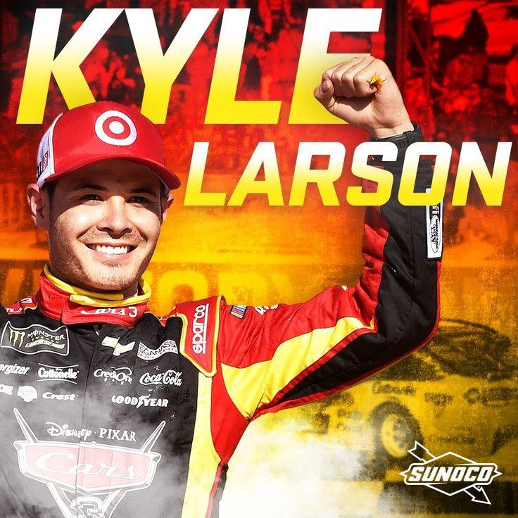 Kyle Larson Wins@Michigan June 18,2017