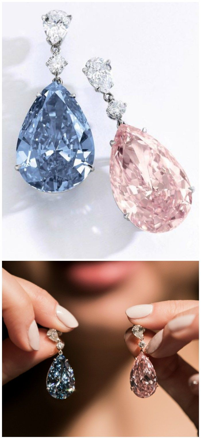 purity sale weighing internally vivid puts a blue fancy iib s sothebys diamond apollo articles dollars earrings sotheby worth for grading type million up flawless