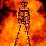 Burning Man 2013 : The Man Burns
