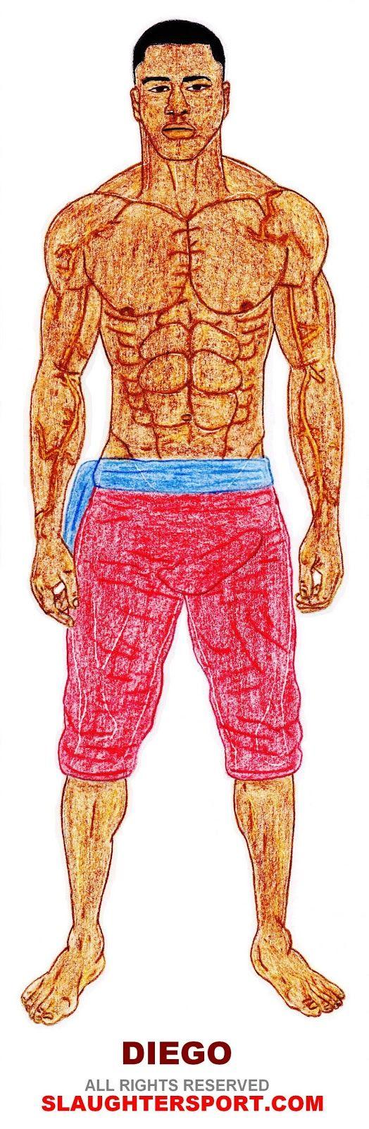 STRENGTH FIGHTER™: DIEGO - Mandingo Combatant