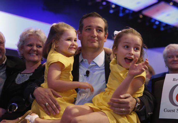 Ted Cruz Slams Cartoon Showing His Daughters as Monkeys