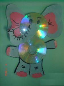 free-cd-elephant-craft