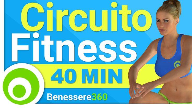 Allenamento a Circuito per Dimagrire e Tonificare il Corpo - Workout Total Body di 40 Minuti - YouTube