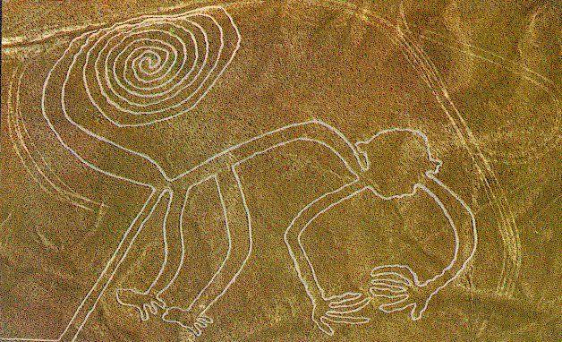 Las líneas de nazca Perú también son uno de los principales atractivos turísticos de América