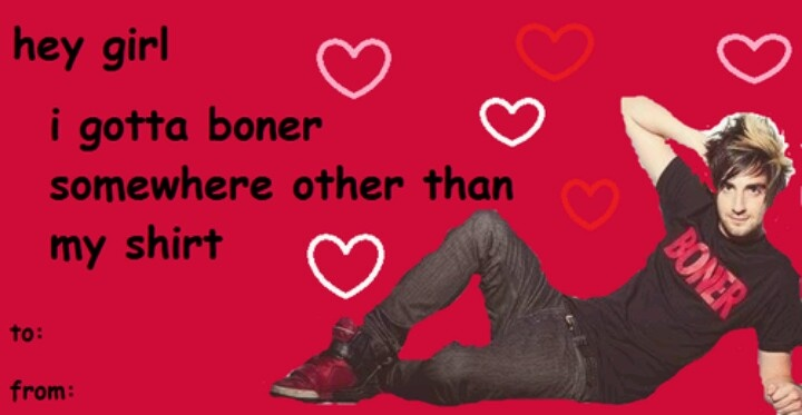 band valentines day cards tumblr
