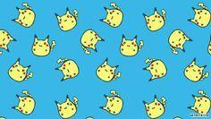Cute Fat Pikachu   Chubby Pikachu PSP Wallpaper