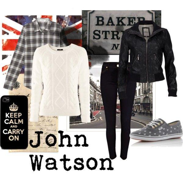 """John Watson (Sherlock)"" by michelle-geiser on Polyvore"