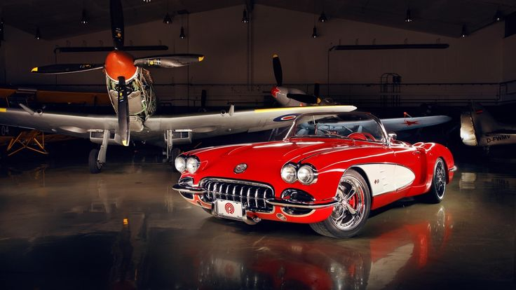 Chevrolet Corvette 1962 - Mustang P51