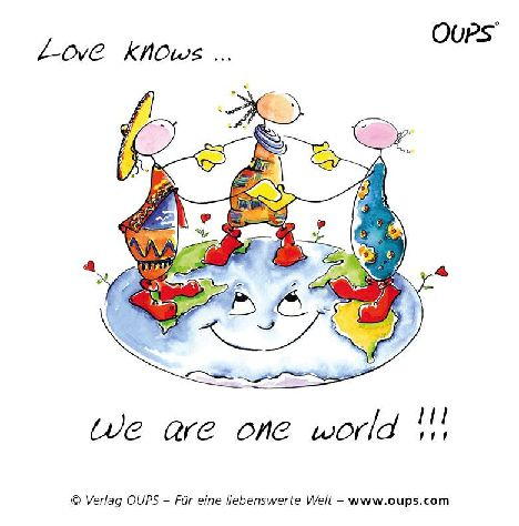 Love Knows We Are One World