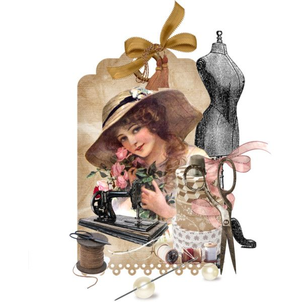 Vintage by mljilina on Polyvore featuring art and vintage