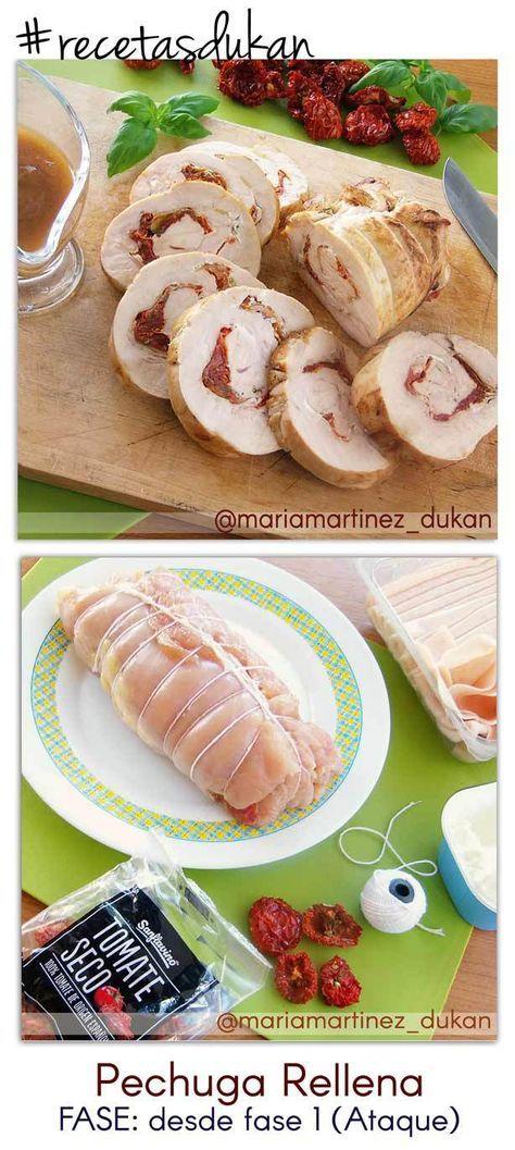 ¿Qué puedo comer? Ejemplo de menú | Recetas Dukan Maria Martinez