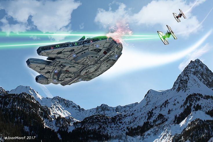 Millenium Falcon / star wars - Andorra
