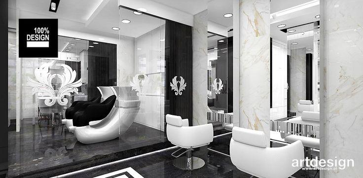 BUTTERFLY | Salon fryzjerski | Wnętrza