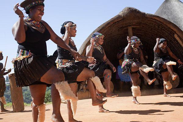 KwaZulu-Natal community dancing