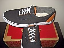 VANS Men's Leather Boat Casual Shoes
