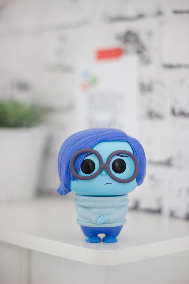 Funko Pop Disney Pixar: Tristeza do filme Divertida Mente | Sadness from Inside Out