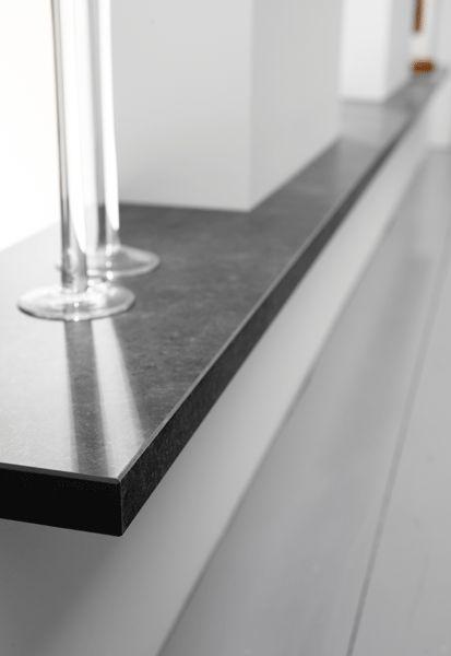 Net echt - Lignodur Stone: design vensterbanken met natuursteen look