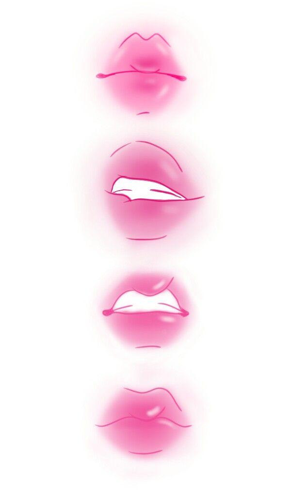 Anime Lips Anime Lips Lips Drawing Pink Drawing