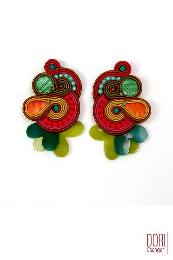 Add a little heat to any outfit with Dori's tropical jewels. #DoriCsengeri #tropical #earrings #jewelry #ss2015