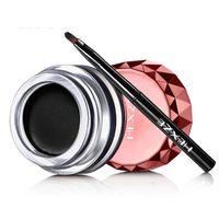 VENTA CALIENTE de alta calidad maquillaje Marca gel delineador de ojos a prueba de agua , conforman delineador de ojos del envío libre