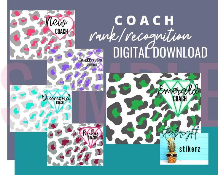 Beachbody Coach Recognition Rank Advancements Images