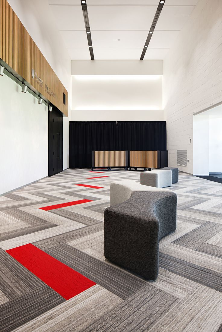 MKDC | Kim Beazley Lecture Theatre | Murdoch University Love this carpet tile patter!