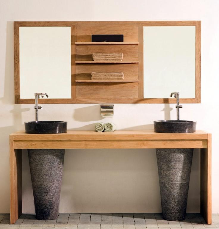 Arredo bagno legno mobili bagno design