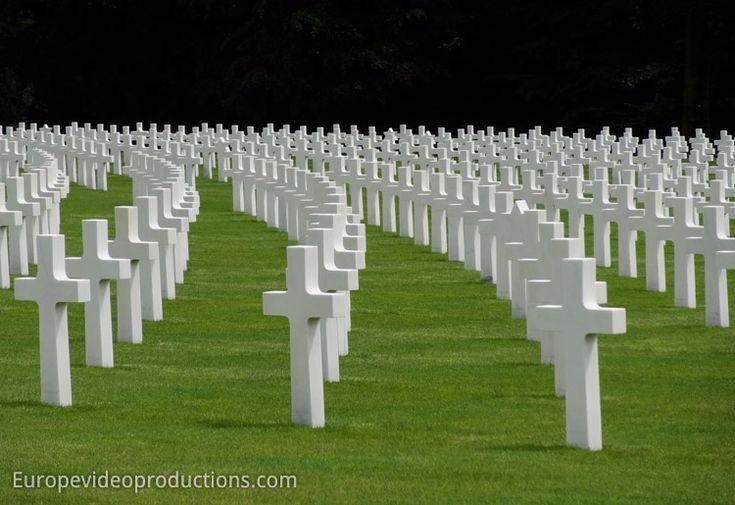 Le cimetière américain de la deuxième guerre mondiale de Luxembourg                                                                                                                                                                                 Plus