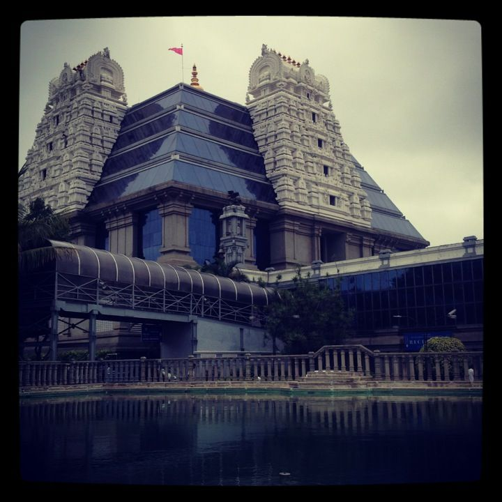 Every thing is beautiful about ISKCON, Bangalore. Dieties, Temple architecture, Festivals and Food
