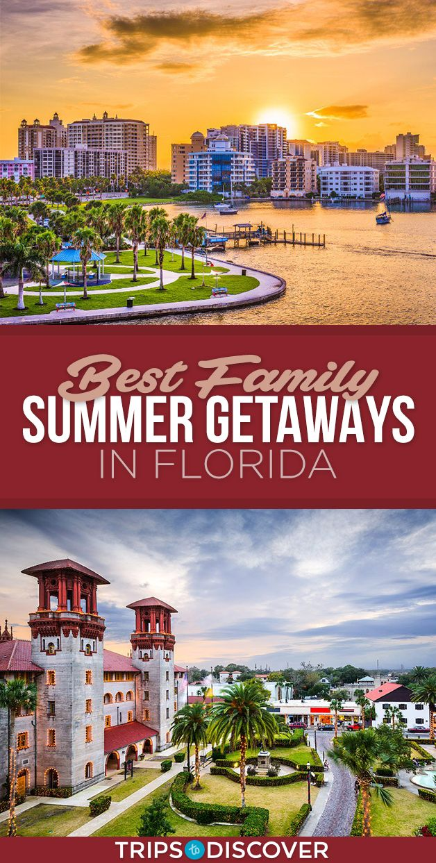 12 Florida Destinations For An Unforgettable Summer Vacation With The Family Florida Vacation Spots Florida Vacation Florida Travel